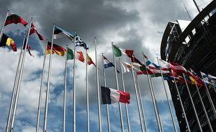 Drapeaux de pays membres de l'Union européenne.