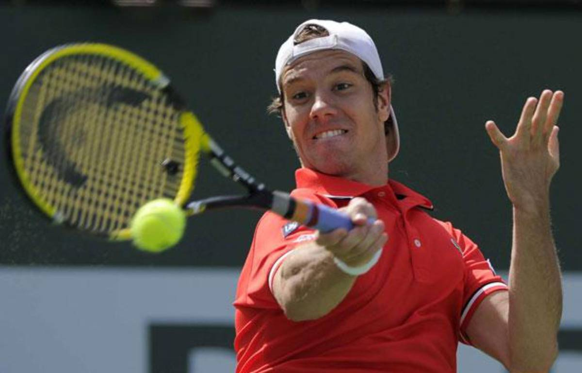 Richard Gasquet, le 18 mars 2011, lors du tournoi d'Indian Wells. – AP/SIPA