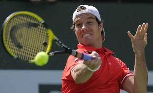 Richard Gasquet, le 18 mars 2011, lors du tournoi d'Indian Wells.