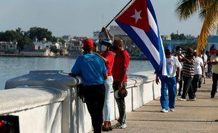 Des Cubains à La Havane, le 31 mai 2021.