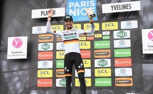 Maximilian Schachmann a remporté la première étape de Paris-Nice.