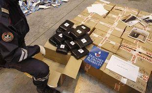 En 2011, les douanes françaises ont saisi 63% de cocaïne de plus qu'en 2010.