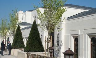 Le Chesnay, le 7 avril 2017. Le temple mormon ouvre ses portes du 22 avril au 13 mai.
