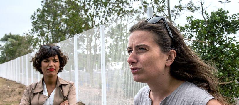 Marine Tondelier (à droite)  est députée EELV dans la nouvelle législature. (image d'illustration)