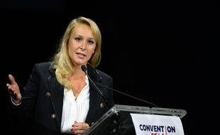 Marion Maréchal à la Convention de droite, samedi 28 septembre 2019.