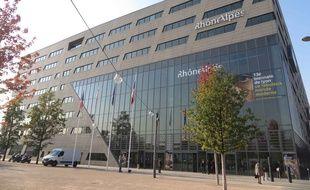 Le siège du Conseil régional Rhône-Alpes au Confluent