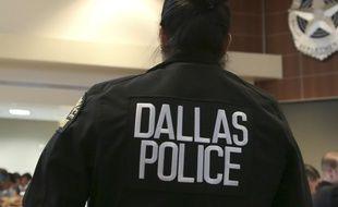 Une policière à Dallas. (Illustration)