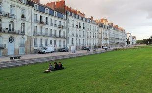 Le quai de Turenne, quartier Feydeau à Nantes.