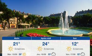 Météo Grenoble: Prévisions du mardi 14 septembre 2021