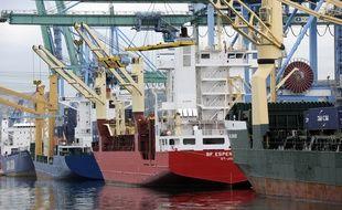 Le port de Marseille-Fos.