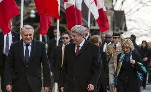 La France et le Canada ont manifesté jeudi un optimisme prudent sur la conclusion d'un accord de libre-échange entre l'Union européenne et Ottawa, à l'issue d'entretiens entre les Premiers ministres français Jean-Marc Ayrault et canadien Stephen Harper.