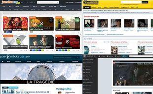 Allociné, jeuvideo.com, millenium.org et PureMedias, quatre sites de Webedia.