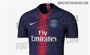 Le futur maillot du PSG aurait déjà fuité.