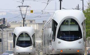 En raison d'un mouvement de grève sur le réseau TCL, les tramways circuleront au ralenti lundi à Lyon.