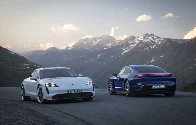 La nouvelle Porsche Taycan, vedette du salon de Francfort 2019