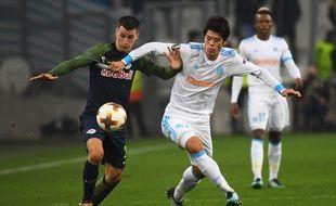 Maillot Extérieur Olympique de Marseille Hiroki SAKAI