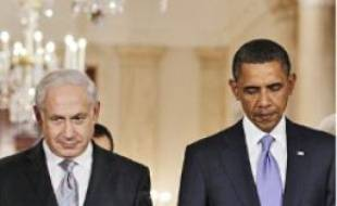 Le Premier ministre israélien (à g.) et le président américain, le 1er septembre.