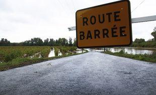 Des inondations à Montagnac, dans l'Hérault (illustration)