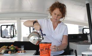 La Suédoise Ariane Pehrson a fondé la société Lyophilise & Co en 2010 à Lorient.