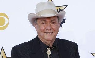 Le chanteur de country music Jim Ed Brown au Texas en avril 2015.