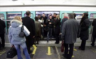 Illustration du métro parisien