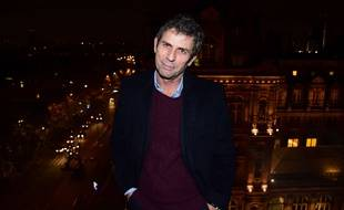 Le journaliste Frédéric Taddeï  à Paris en novembre 2017.