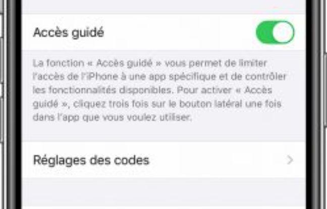 Comment utiliser la fonction Accès guidé sur iPhone ou iPad