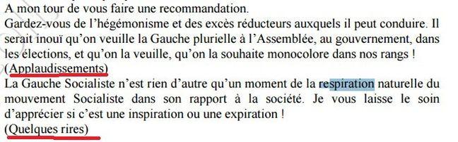 Un extrait de discours de Jean-Luc Mélenchon en 1997.