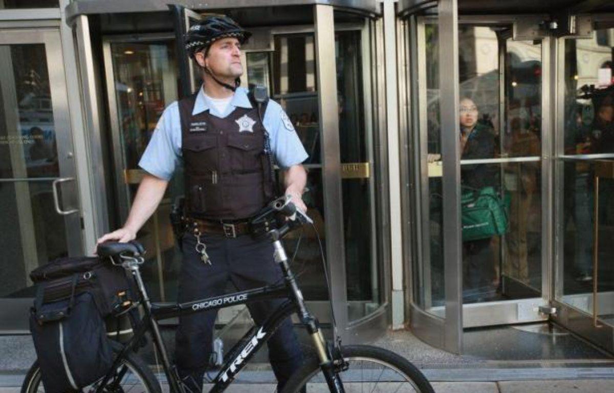 Trois militants arrêtés pour terrorisme projetaient un attentat contre le quartier général de campagne du président américain Barack Obama à Chicago, lors des manifestations organisées en marge du sommet de l'Otan de dimanche et lundi, a-t-on appris de source judiciaire. – Scott Olson afp.com