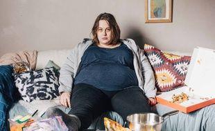 Juliette Katz dans le téléfilm «Moi grosse», sur France 2