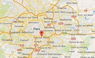 Ivry-sur-Seine, dans le Val-de-Marne.