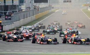 L'Allemand Sebastian Vettel (Red Bull) a remporté le Grand Prix de Corée du Sud, 16e manche du Championnat du monde de Formule 1, devant son coéquipier australien Mark Webber et l'Espagnol Fernando Alonso (Ferrari), dimanche sur le circuit de Yeongam, au sud de Séoul.