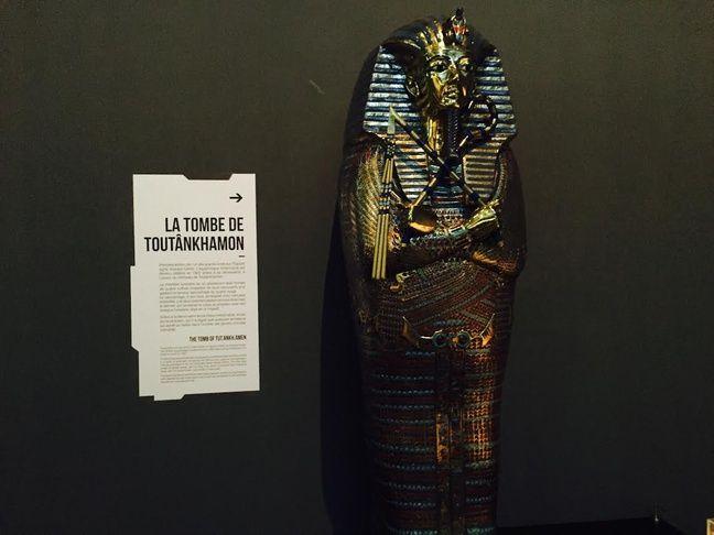 La tombe de Toutânkhamon.