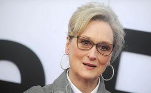 Meryl Streep à l'avant première de «Pentagon Papers», à Washington, le 14 décembre 2017.