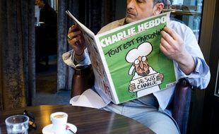 Un lecteur découvre le «Charlie Hebdo» du 14 janvier 2015