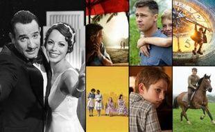 Oscars 2012: The Artist, The Descendants, The Tree of Life, Hugo Cabret, Midnight in Paris, The Help (La couleur des sentiments), Extrêmement fort et incroyablement près, Cheval de Guerre et Moneyball.