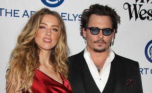 Les anciens époux Amber Heard et Johnny Depp