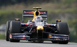 Le pilote de F1, Sebastian Vettel, lors du Grand Prix de Malaisie, le 4 avril 2009.