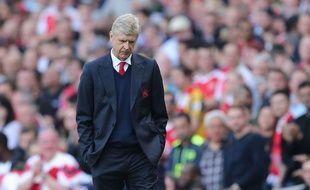 Arsène Wenger va peut-être disputer son dernier match à la tête d'Arsenal à l'occasion de la finale de la Cup contre Chelsea, le 27 mai 2017.