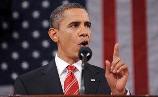 Barack Obama, lors de son premier discours sur l'état de l'Union, le 27 janvier 2010