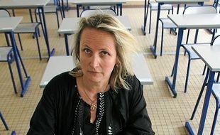 Loetizia Fayolle-Barrau, professeur d'histoire-géo.