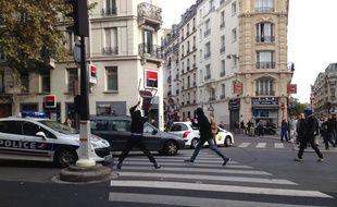 Une manifestation pour protester contre la mort de Rémi Fraisse dégénère à Paris le 13 novembre 2014