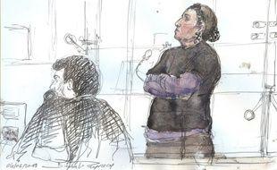Christine Rivière est entendue comme témoin au procès de son fils, Tyler Viler, jugé pour des meurtres en Syrie.