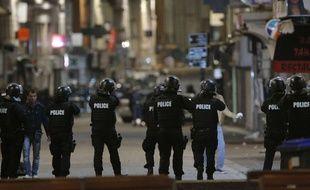 Opération de police à Saint-Denis, le 18 novembre 2015, cinq jours après les attentats du 13 novembre.