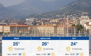 Météo Toulon: Prévisions du jeudi 9 juillet 2020