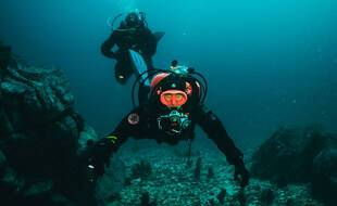Plongeurs en mer du Japon