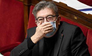 Jean-Luc Mélenchon à l'Assemblée nationale, en novembre 2020.