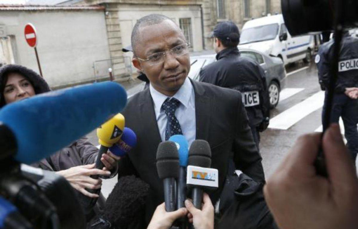 Apolin Pepiezep, l'avocat de Mehdi Nemmouche, a précisé que son client souhaitait être jugé en France – Thomas Samson AFP