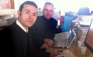 Mehdi Cherfi (à gauche) et Marc Low (à droite), experts en recrutement