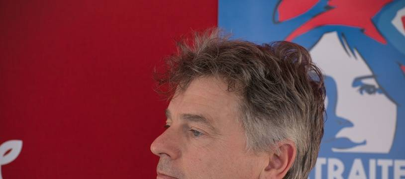 Le secrétaire national du Parti communiste français, Fabien Roussel, le 13 février 2020.